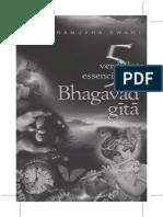Cinco Verdades Essenciais Da Bhagavad-gita