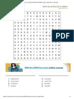 Imprimir SOPA de LETRAS de ALGEBRA. Algebra. Fabiola Bernal - Educaplay