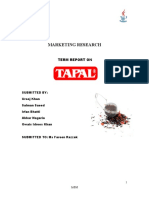 Final Report Tapal