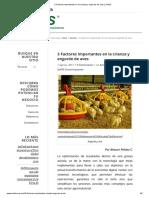 3 Factores Importantes en La Crianza y Engorde de Aves _ SofOS