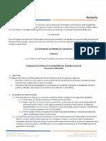 Convocatoria y Tabla de Actividades ESDEPED 2019 2020UAT