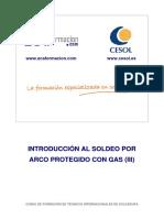Introducción Al Soldeo Por Arco Protegido Con Gas (III)