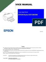 Technical Manual Epson Stylus d88