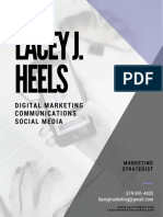 Lacey J. Heels Social Media Portfolio
