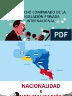 Derecho Comparado de La Legislación Privada Internacional