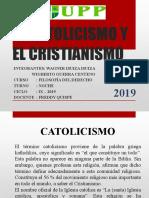 Catolicismo y Cristianismo