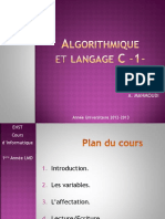 Enst Informatique-Algorithme c1