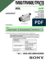 Dcr-trv60 Level 3