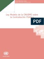 2011 Model Law on Public Procurement s