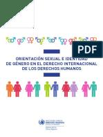 Orientación Sexual e Identidad de Género en El Derecho Internacional de Los Derechos Humanos