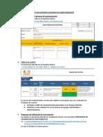Lista de Documentos Internos de Mantenimiento