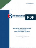 Modulo Problemas de La Historia de Colombia