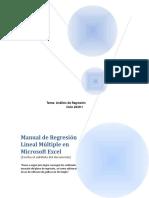 Manual de Regresion multiple