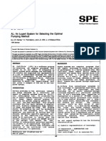 An Expert System for Selecting the Optimal Pumping 1989
