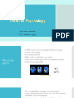 fmri and psychology