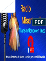 Afiche Radio Misericordia