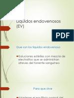 Líquidos Endovenosos (EV)