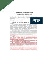 Ampliacion Objeto CA Transportista