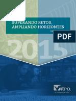 Informe anual de vitro 2015
