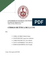 Informe 2 de Etica