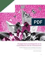 Anexo 1_Lectura_De Zubiría (2017) El Papel de La Investigación en La Consolidación de Las Innovaciones