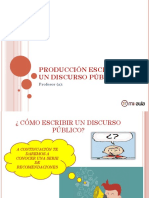 Apunte Produccion Escrita de Un Discurso Publica 75037 20170201 20151209 204854