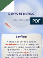 O Livro de Levítico