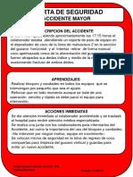 Alerta Accidente Mayor MM fractura dedo indice y anular mano derecha.pptx
