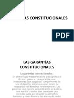 Las Garantías Const.
