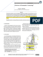 Historical Review of Pneumatic Conveying