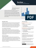 RocData Product Sheet