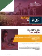 MAESTRIA EDUCACION
