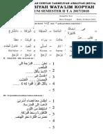 6 Bahasa Arab IV