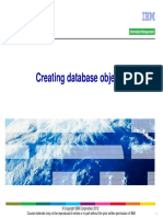 CL2X3Bg05 Creating Database Objcts