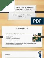 Decreto Legislativo 1318 - Formación Policial