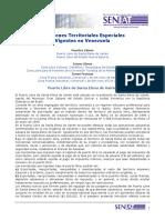 Regimenes Territoriales Especiales Vigentes en Venezuela