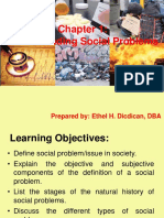 Chapter 1 Social Problems SDGs and Laudato Si
