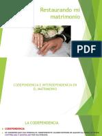 Interdependencia en El Matrimonio Diapositivas