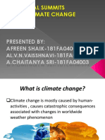 Global Summits on Climate Change (1)