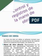 CONTROL Y REGISTRO DE LA MANO DE OBRA