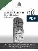 10° Libro del Estudiante - Matemáticas II.pdf
