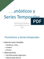 Pronosticos y Series Temporales