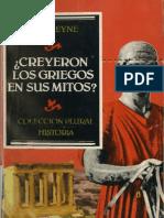 [Paul Veyne] Creyeron Los Griegos en Sus Mitos (Z-lib.org)