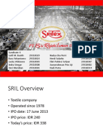 SRIL Fundamental Analysis