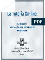 La Tutoria on-line
