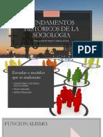 Fundamentos Históricos de La Sociologia