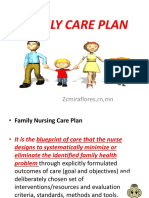 Family Care Plan