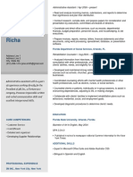 Basic Gray Resume Template