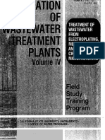 Treatment of Wastewater From Electroplating Metal Finishing and Printed Circuit Boảd Manufacturing
