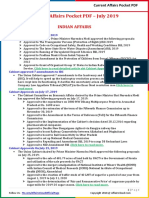 Current Affairs Pocket PDF - July 2019 by AffairsCloud